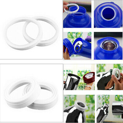 2Pcs Rubber Leak Proof Seals O-Rings Gaskets for Thermos Bottle Flask Jug Safe