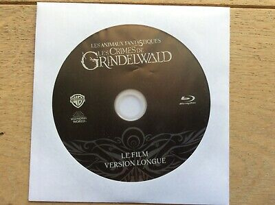 Blu Ray CRIMES OF GRINDELWALD, FANTASTIC BEASTS 2, EXTENDED CUT