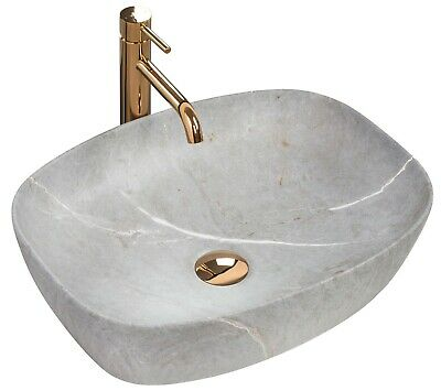 LAVABO ROXY 49 Vasque Ceramique Stone Pierre Imitation ...