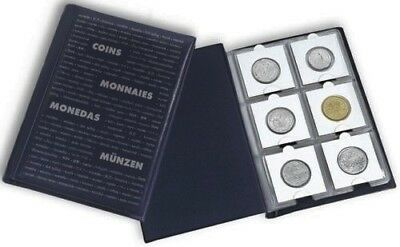 Numis Pocket Coin Album for 60 Coins in 2x2 Coin holders + free gift