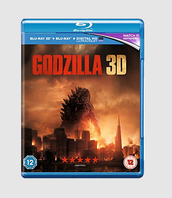 Godzilla Blu-ray 3D with 2D Edition Action/Sci-fi/Thriller Movie