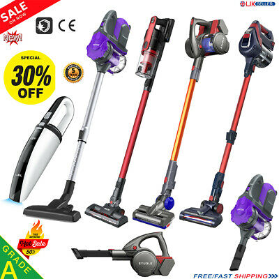 Cordless Handheld Upright Bagless Vacuum Cleaner Lightweight Dust Cleaner Hoover