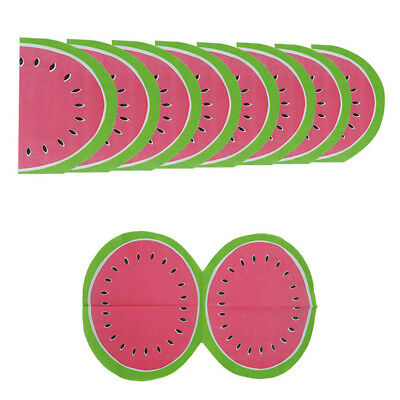20x watermelon paper napkin disposable tableware for party decoration supplies#