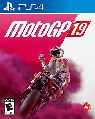 MotoGP 19 (PS4) - PlayStation 4 BRAND NEW FACTORY SEALED PS4
