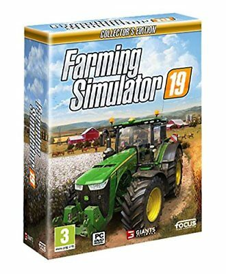 FARMING SIMULATOR 19 -   Collector's EDITION - PC - Sigillato Nuovo italiano