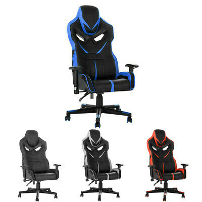 High Back Reclining Sports Racing Gaming Office Desk Home Leather Chairs NEW