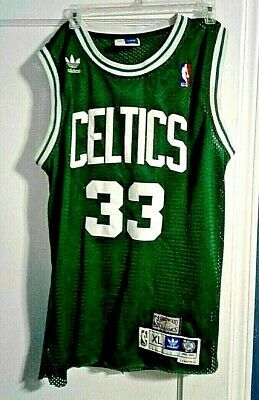 outlet store d502c cb744 BOSTON CELTICS BASKETBALL Jersey, Larry Bird, Adidas, Stitched, Green w/  White