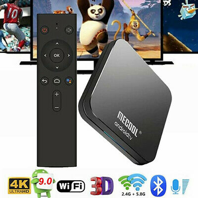 MECOOL KM8 ANDROID 8 0 Quad Google Certified TV Box Wifi