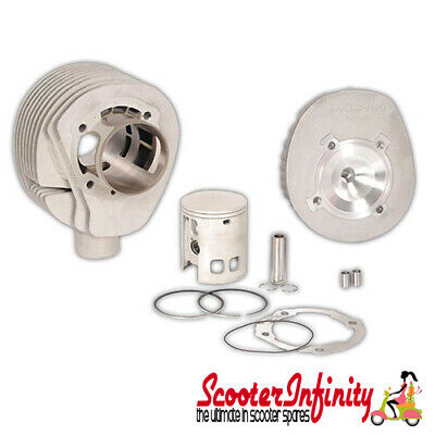 Cylinder Kit Malossi 210 MHR (Racing) (With Head) (Vespa PX200, Rally 200) ALLOY