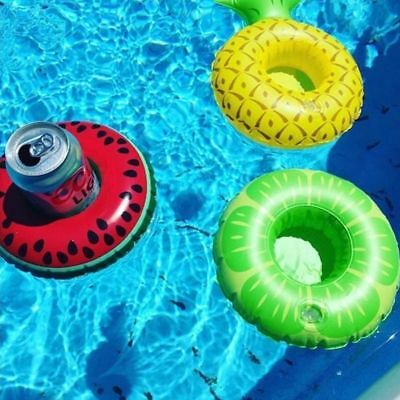 UK Inflatable Floating Drink Can Cup Holder Hot Tub Swimming Pool Party Bath Toy