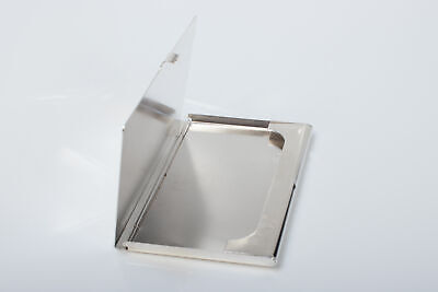 Vintage Solid Sterling Silver Business Card Case Hallmarked 1991