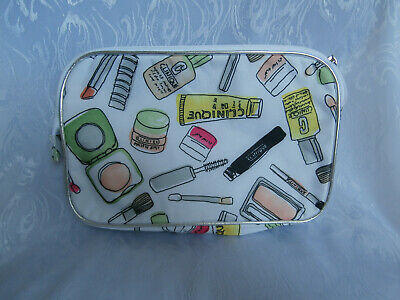 Clinique Colourful Make Up Patterned Cosmetics Make Up Bag 100% Polyester New