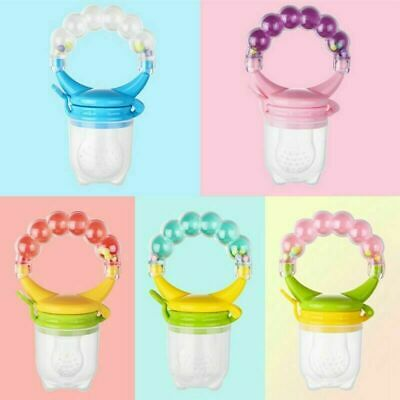 Baby Feeding Pacifier Fresh Food Fruit Feeder Infant Dummy Soother czxy
