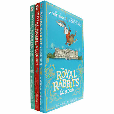 Santa Montefiore The Royal Rabbits of London 3 Books Collection Set Adventure