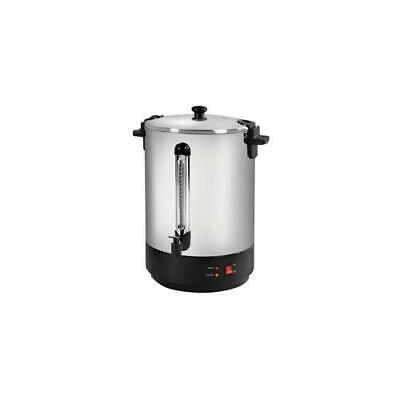 Catering Urn Locking Lid Boil Dry Overheat Protection 2500W 30 Litre
