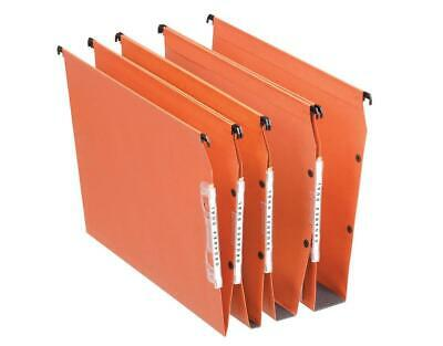 Esselte Orgarex Dual Lateral Suspension File A4 50mm 21630 [Pack 25]