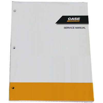 CUSTODIA CX80C Midi Excavator Service Shop Repair Manual - Part # 47575340A