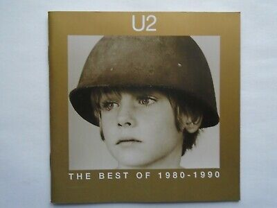 U2 - The Best Of 1980 - 1990 (CD 1998) Near mint condition