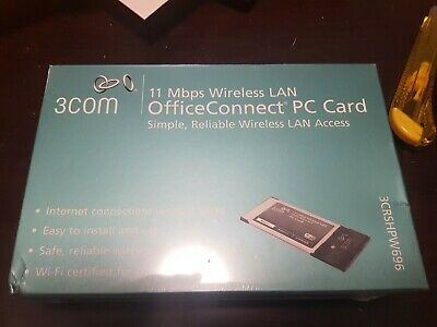 3com Office Connect PC card wireless. New