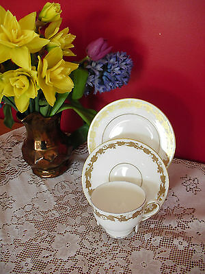Lovely Vintage bone china Wedgwood Whitehall trio cup saucer & tea plate