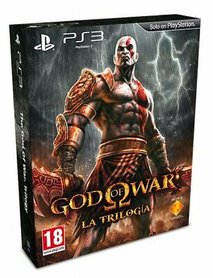 Juego Ps3 God Of War Trilogy Pack Ps3 4814754