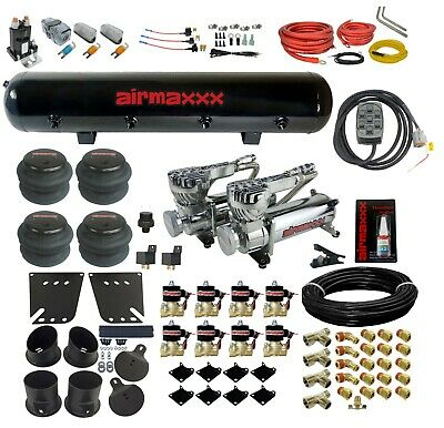 63-72 CHEVY C10 Truck Air Ride Suspension Kit 2700/2600lbs Bags & 2