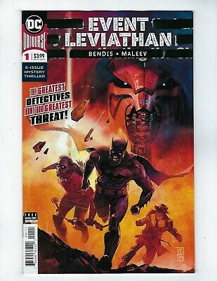 EVENT LEVIATHAN # 1 (DC Universe, AUG 2019), NM NEW