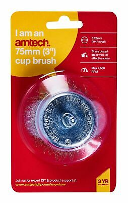3'' Cup Brush Amtech F3200
