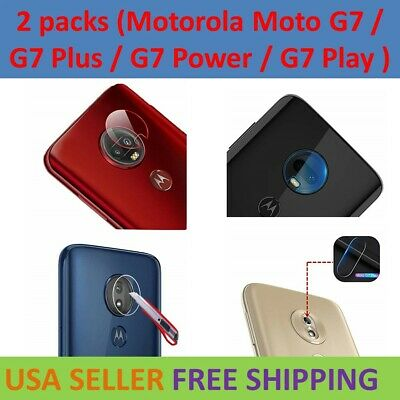 Tempered Glass Back Camera Lens Protector For Motorola Moto G7 Plus Power Play