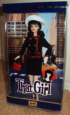 BARBIE as THAT GIRL Original MARLO THOMAS Fashion DOLL Figure MIB Mattel ANN '02