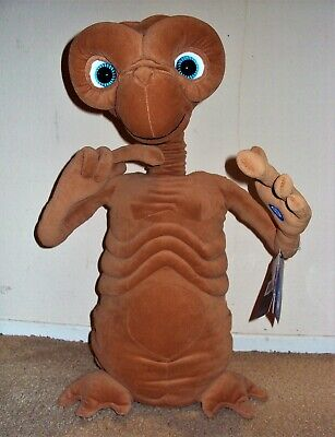 E.T. Extra Terrestrial PLUSH Talking ET Light-up GIANT Figure Thinkway DOLL Big!