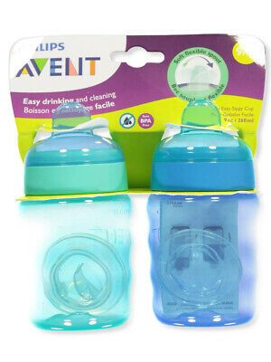 Avent 2-Pack My Easy Sippy Cup (9 oz.)