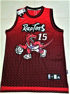 NWT Adidas VINCE CARTER Toronto RAPTORS Road SWINGMAN Jersey XL Stitched Sewn