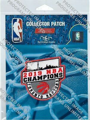 2019 Nba Finals Patch Toronto Raptors Champions Same Player Championship Style