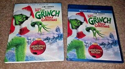 Dr. Seuss - How The Grinch Stole Christmas Blu-Ray + Digital Hd New Sealed