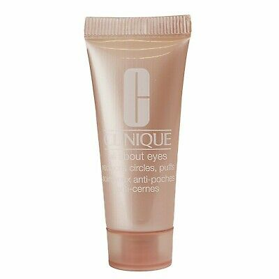 Clinique All About Eyes FULL SIZE Tube (.5 oz/15 ml) with FREE Sleep Mask