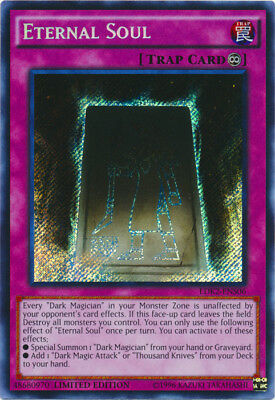 YGO-1x-Near Mint-Eternal Soul - LDK2-ENS06 - Secret Rare - Limited Edition-Legen