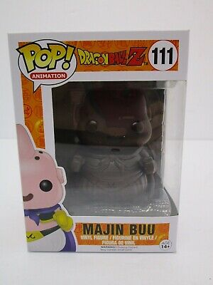 Funko Pop Dragon Ball Z Chocolate Majin Buu #111 Exclusive Dragonball z