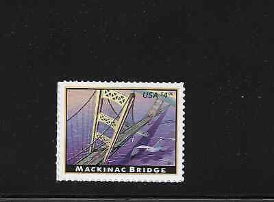 Sc 4438 MACKINAC BRIDGE $4.90 PRIORITY MAIL STAMP Single MNH
