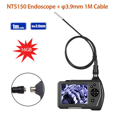 NTS150 1M Probe 3.9mm 1MP HD 3.5Inch 2x Zoom Industrial Borescope Video Camera