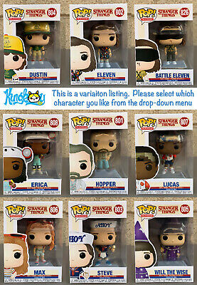 Funko POP! Television: Stranger Things Season 3 (Variation Listing)