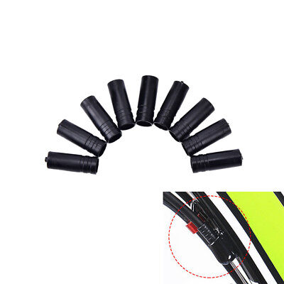 100X 4mm Bike Bicycle Cycling Brake Cable Crimps Housing Plastic End Tips Cap_TS