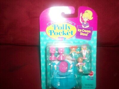 Vintage 1995 Bluebird Toys Polly Pocket Ice Cream Stand NEVER Opened NEW MINT