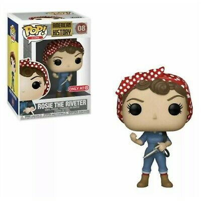 Funko Pop Rosie The Riveter Target Exclusive American History Double Boxed