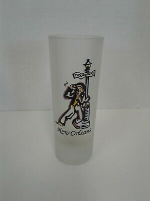New Orleans Frosted Shot Glass Glasses