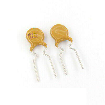 10PCS RXEF030 72V 0.3A PTC 300MA Resettable Fuse Radial Lead Polyswitch Polyfuse
