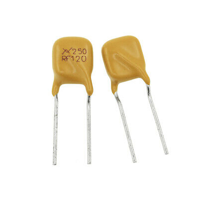 10PCS TRF250-120 PPTC 250V 0.12A Resettable Fuse Radial Lead Polyswitch Polyfuse
