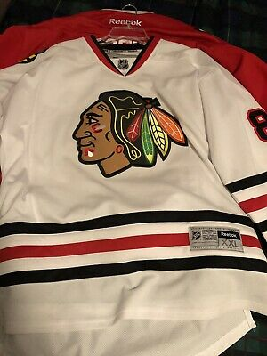 39318def CHICAGO BLACKHAWKS PATRICK Kane Authentic NHL Center Ice Reebok ...