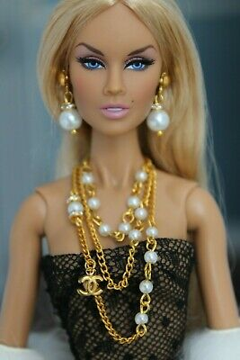 Fashion royalty/Poppy Parker/Color Infusion/ Industry/ jewelry necklace earrings