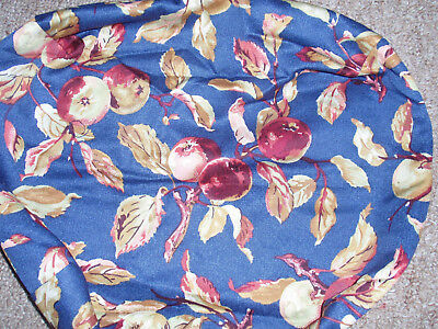 """Longaberger Liner, Early Harvest fabric, Fits """"SMALL BERRY"""" Basket, NEW!!!"""